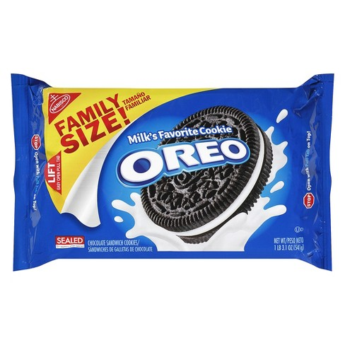 Oreo Chocolate Sandwich Cookies - Family Size - 19.1oz - image 1 of 1