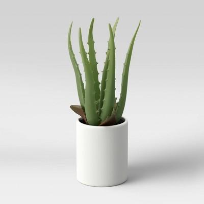 """10"""" x 5"""" Artificial Aloe Plant Arrangement - Project 62™"""