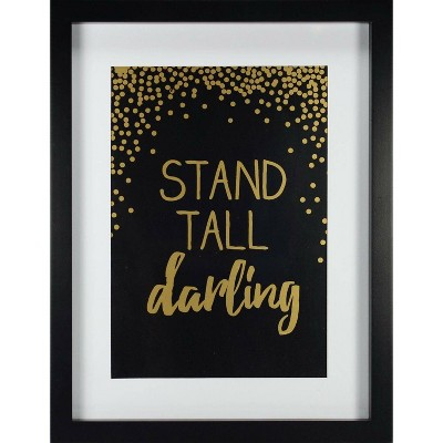 RoomMates Framed Wall Poster Prints Stand Tall - Gold