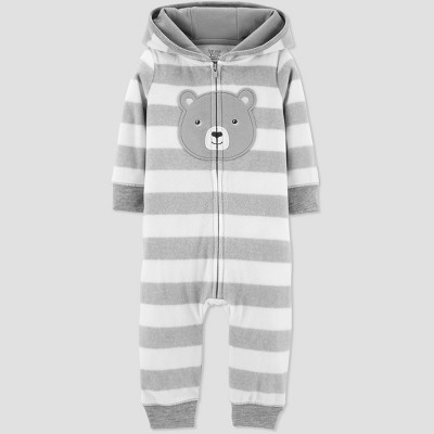Baby Boys' Bear Jumpsuit - Just One You® made by carter's Gray Newborn