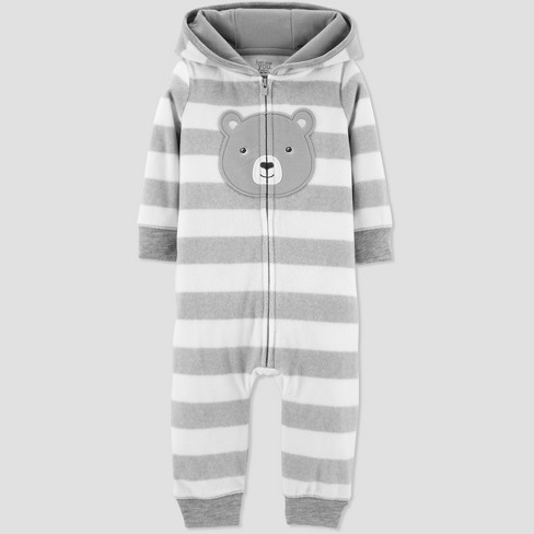 e37c8664d4cf Baby Boys  Bear Jumpsuit - Just One You® Made By Carter s Gray ...