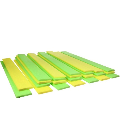 """Pool Central 59.5"""" Noodle Boards Swimming Pool Floats 24pc - Yellow/Green - image 1 of 3"""