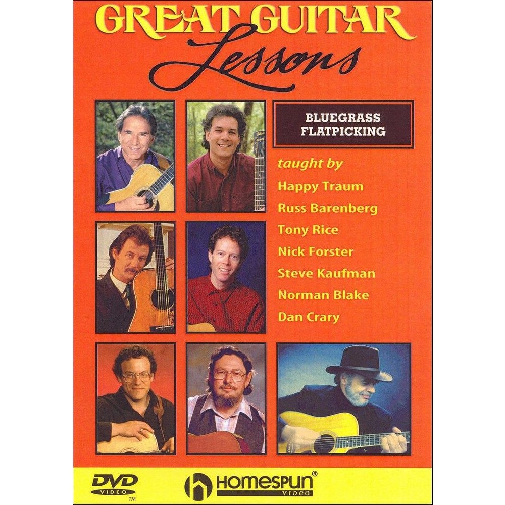 Great Guitar Lessons:Bluegrass Flatpi (Dvd)