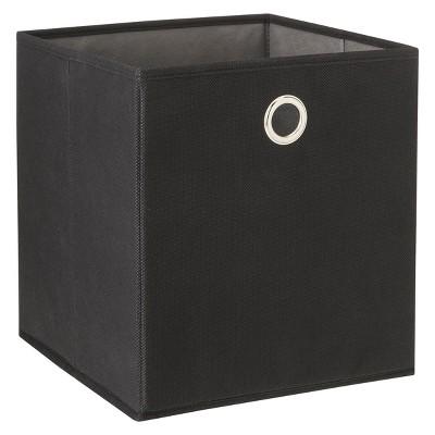 Fabric Cube Black - Room Essentials™