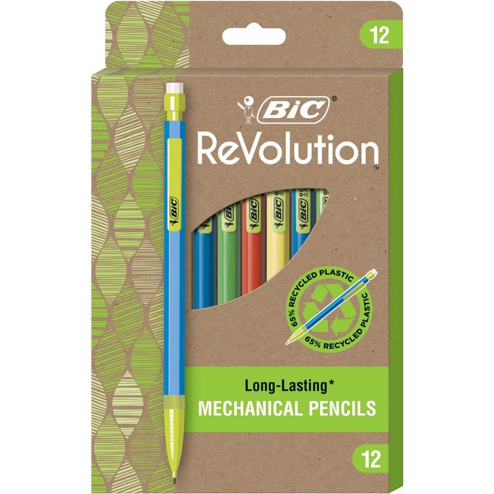 Bic 12pk 2 Mechanical Pencils Revolution 0 7mm