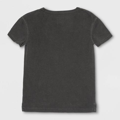 bbee0307 Toddler Boys' Junk Food DC Comics Batman Short Sleeve T-Shirt - Black