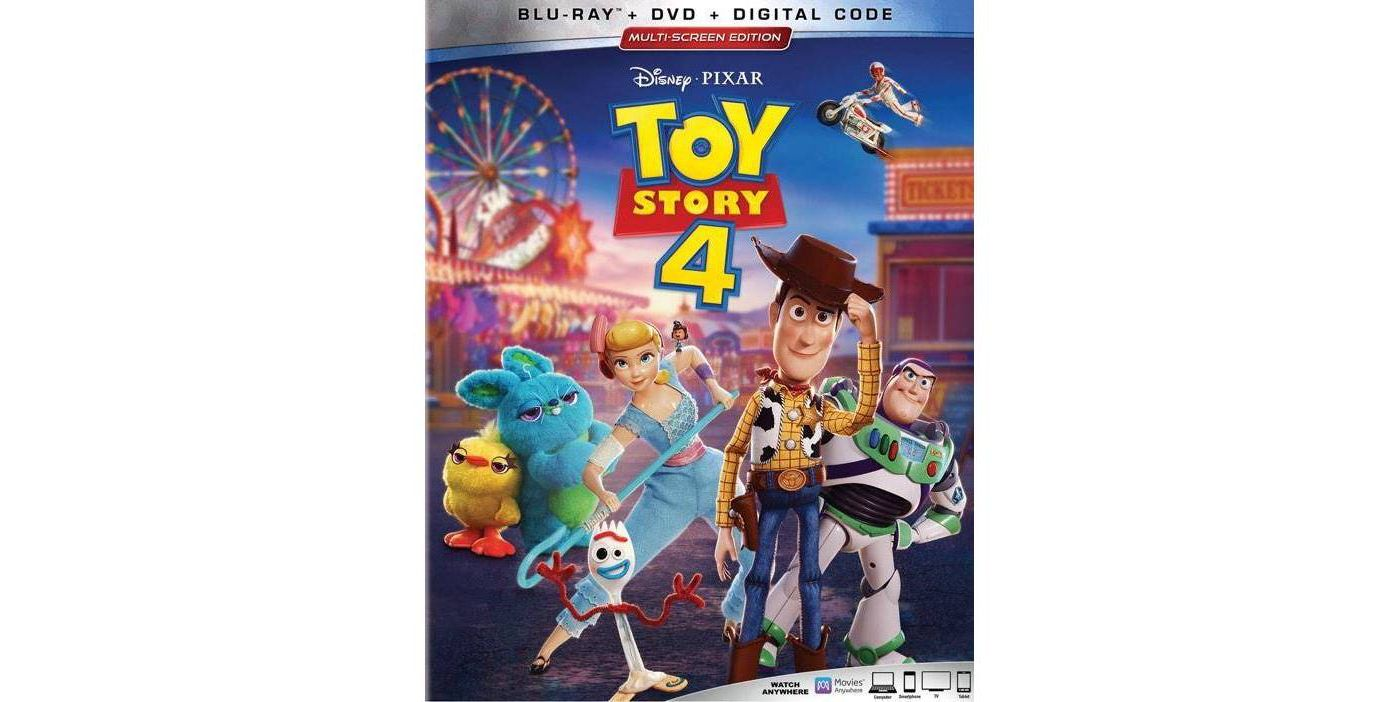 Toy Story 4 (Blu-Ray + DVD + Digital) - image 1 of 2