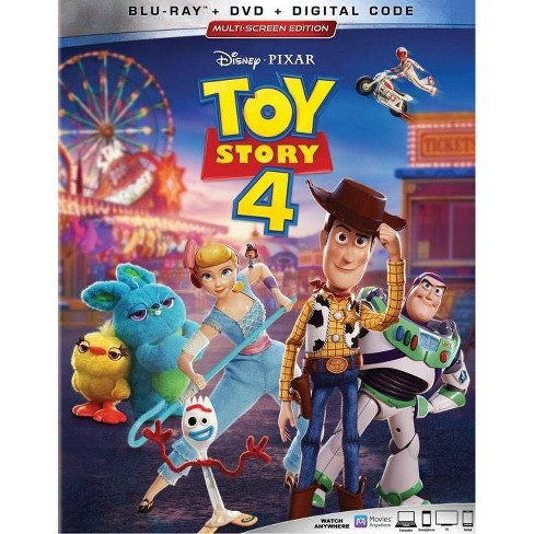 Toy Story 4 (Blu-Ray + DVD + Digital) - image 1 of 2