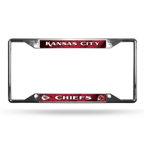 Rico Industries Chiefs Black Chrome Frame