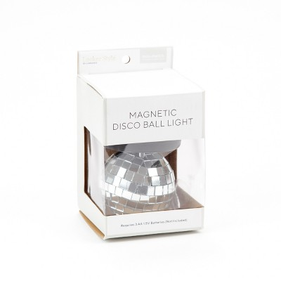 Locker Style™ Disco Ball LED Light Decoration - Silver