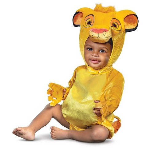Baby Lion King Simba Halloween Costume - image 1 of 3