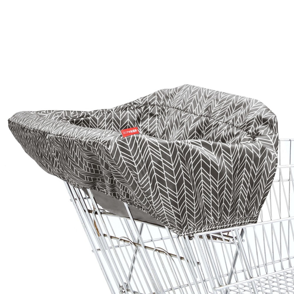 Skip Hop Take Cover Shopping Cart Cover - New Colorway, Gray