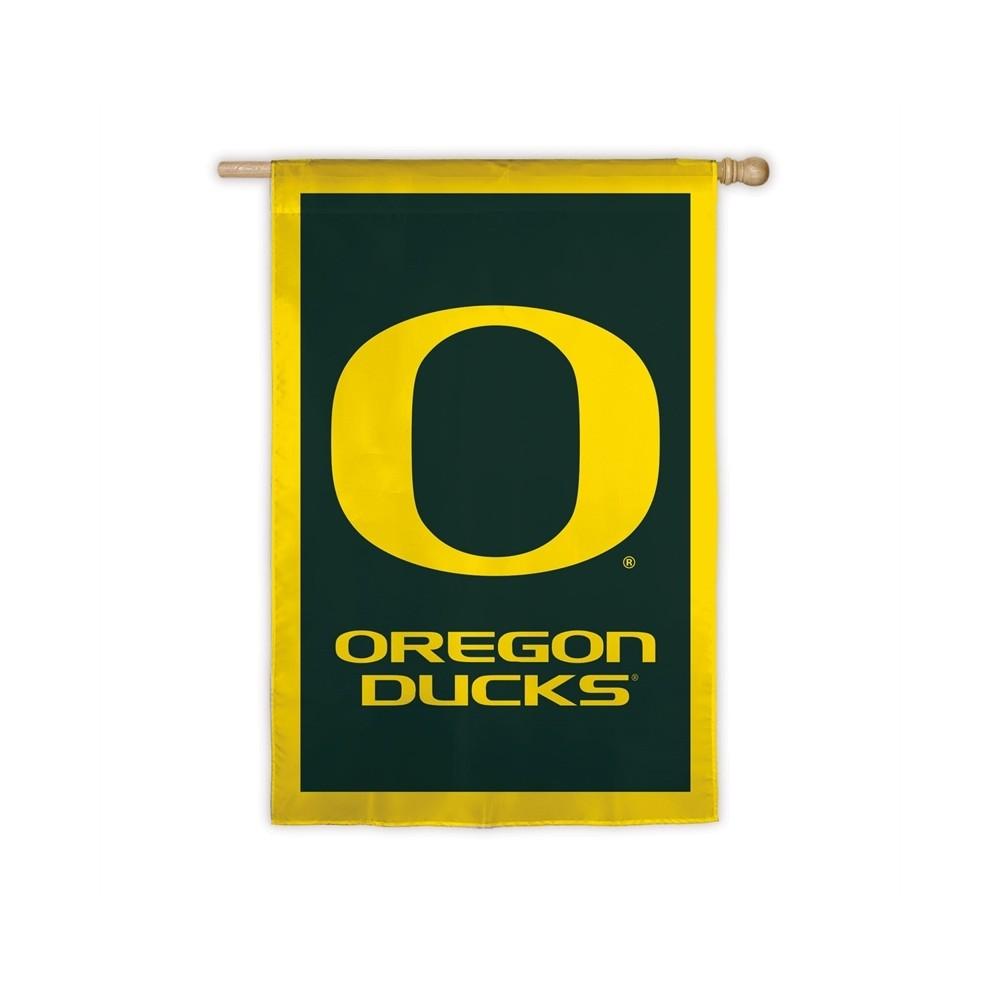 Oregon Ducks Applique House Flag