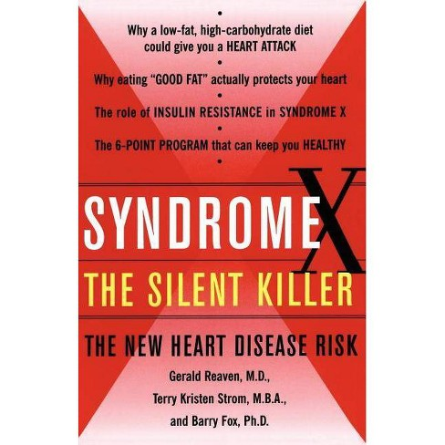 Syndrome X - by  Terry Kirsten Strom & Barry Fox & Gerald Reaven (Paperback) - image 1 of 1