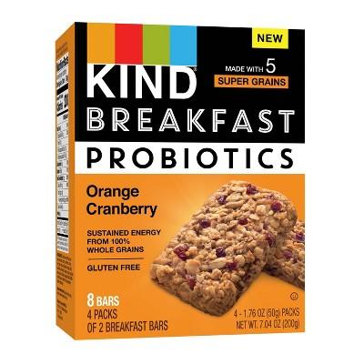 Granola & Protein Bars: KIND Breakfast Probiotics