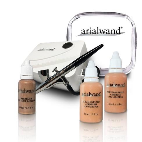 Arialwand Airbrush Kit with Serum Infused Foundation - 1 fl oz - image 1 of 4