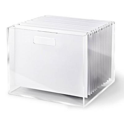 RUSSELL + HAZEL Acrylic File Box