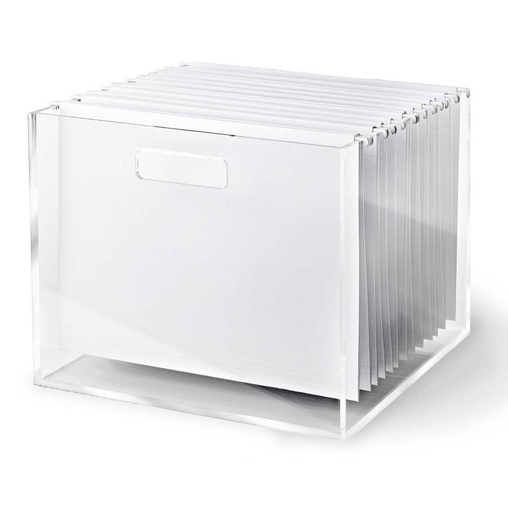 Image of RUSSELL + HAZEL Acrylic File Box