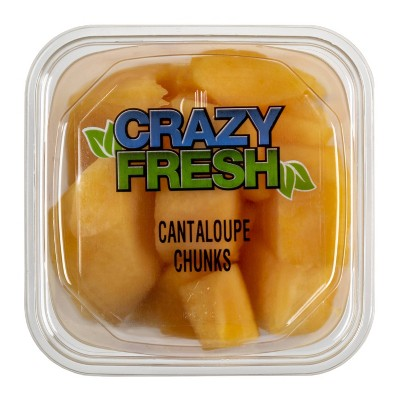 Crazy Fresh Cantaloupe Chunks - 15oz
