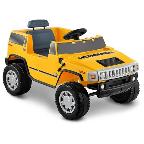 Kid Motorz Hummer H2 6v Ride On Yellow Target