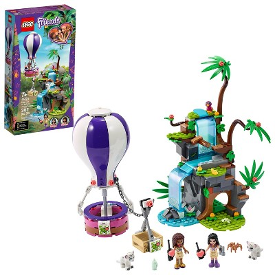 LEGO Friends Tiger Hot Air Balloon Jungle Rescue Set Comes with 2 Tigers Toys 41423