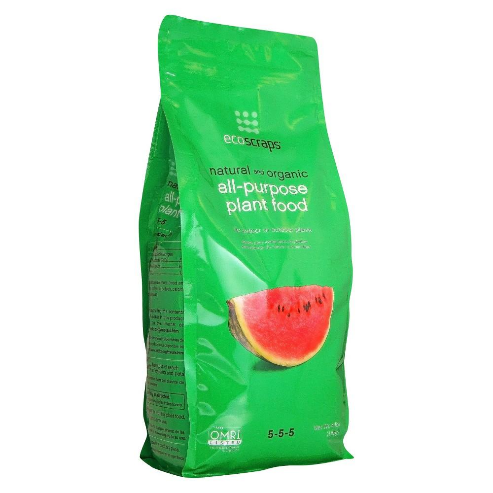 Image of EcoScraps Organic All Purpose Plant Food 4lb