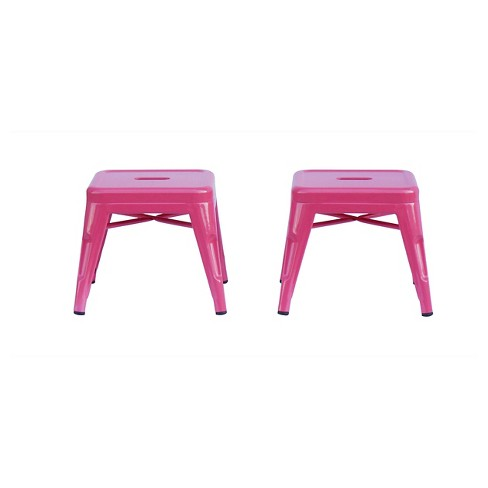 Incredible Kids Stool Metal Set Of 2 Ace Bayou Alphanode Cool Chair Designs And Ideas Alphanodeonline
