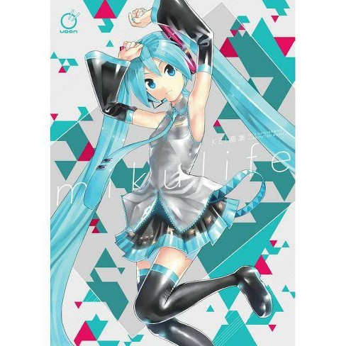 Mikulife: Kei's Hatsune Miku Illustration Works - (Paperback) - image 1 of 1