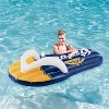 Corona Beer Inflatable Flip Flop Swimming Pool Floats with Cupholders (2 Pack) - image 3 of 4