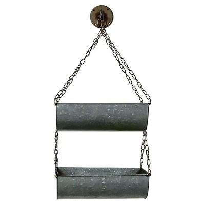 Iron Baskets Dark Gray 2pk - 3R Studios