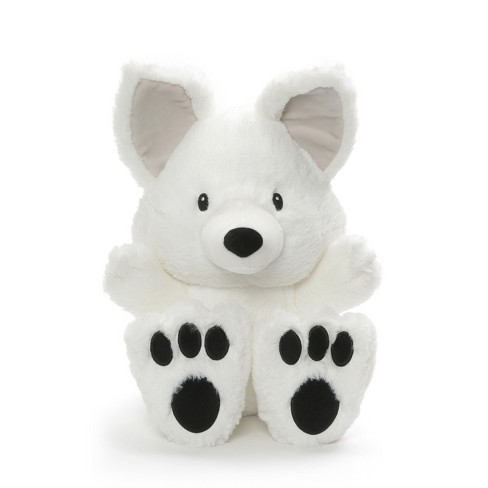 G By Gund Silly Pawz Husky Dog Plush Stuffed Animal Gray And White