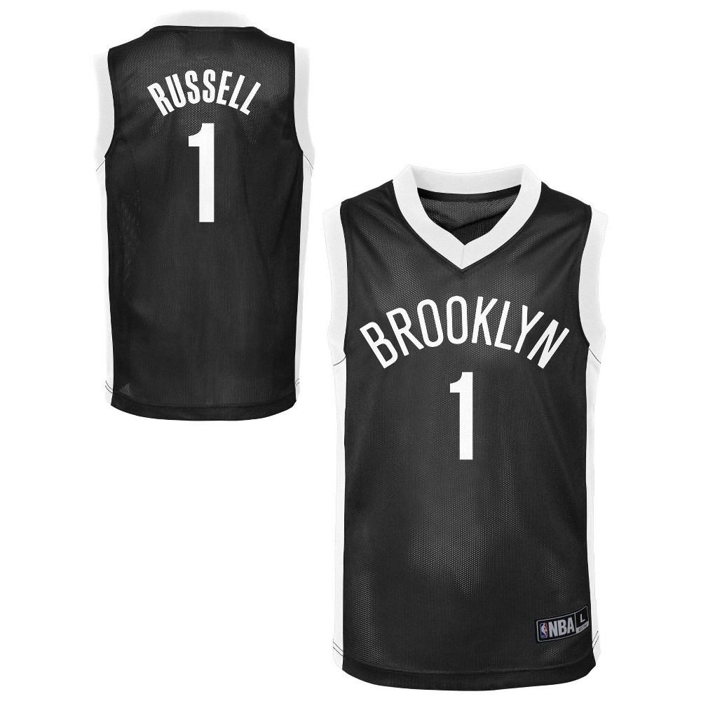Brooklyn Nets Toddler Player Jersey 3T, Toddler Boy's, Multicolored