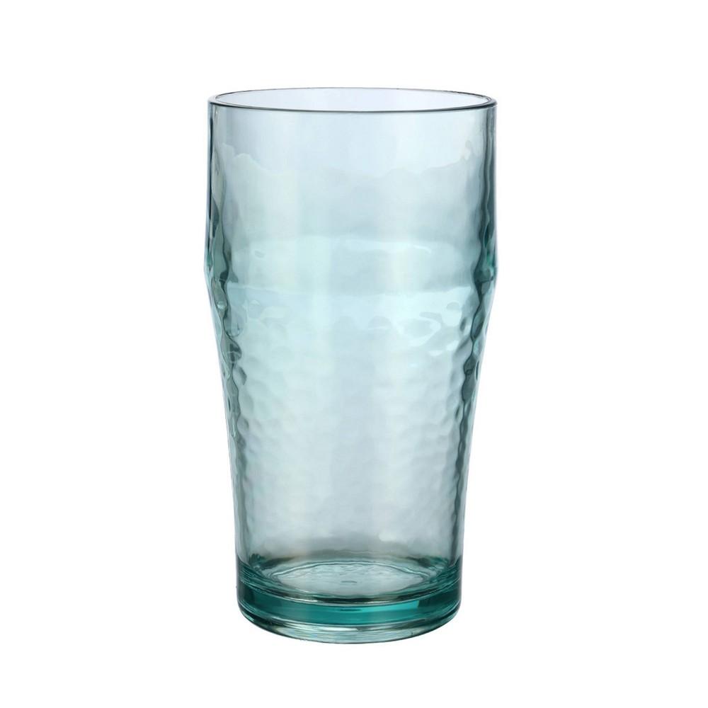 Image of Felli Acrylic Tall Tumblers 19oz Seaglass - Set of 6