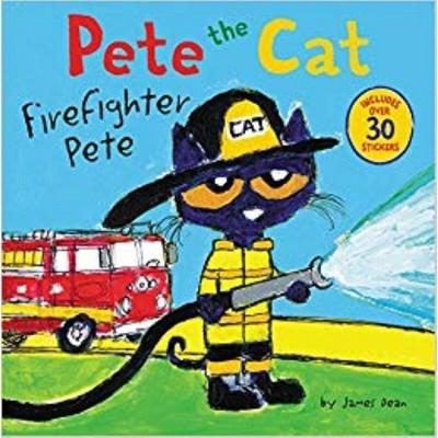 Firefighter Pete (Paperback)(James Dean)