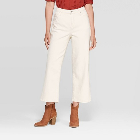 Universal Thread Stretch Women/'s High-Rise Straight Fit Jeans Red