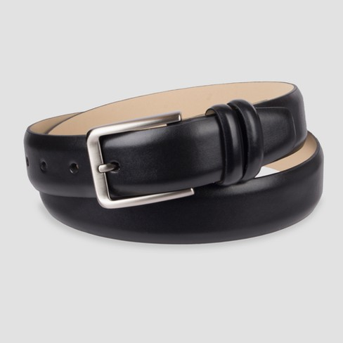 Men's 32mm Feather Edgeather Edge Ombre Belt - Goodfellow & Co™ Black/Brown - image 1 of 1