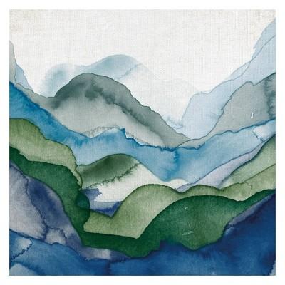 Emerald Quartz A by GI ArtLab Wrapped Canvas Art Print - Fine Art Canvas
