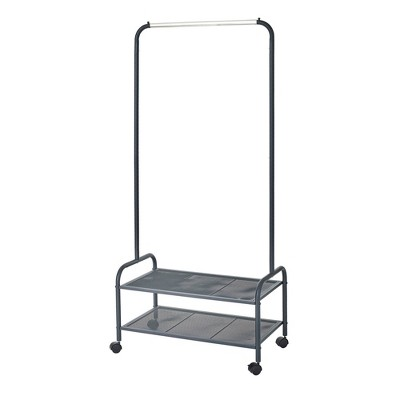 Neatfreak Heavy Duty Steel Garment Rack with Shelves