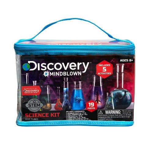 Discovery Kids #Mindblown Test Tubes Science Activities Kit - image 1 of 3