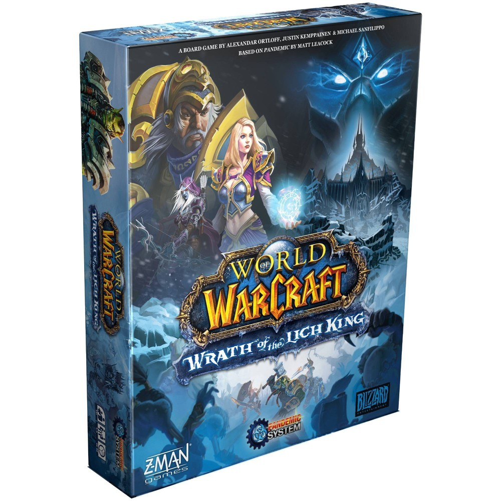 World of Warcraft: Wrath of the Lich King Pandemic Game