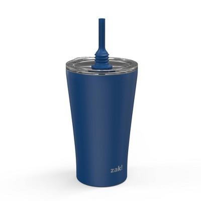 Zak Designs 20oz Stainless Steel Double Wall Vacuum Tumbler Indigo