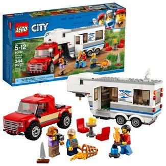 LEGO City Great Vehicles Pickup & Caravan 60182