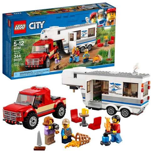 LEGO City Great Vehicles Pickup & Caravan 60182 - image 1 of 4