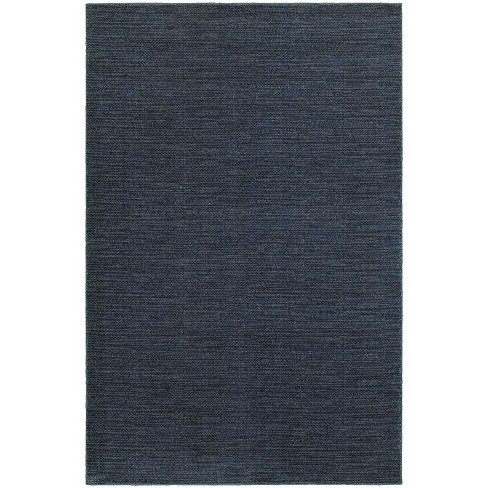 Legacy Solid Blue Area Rug - Blue (7'X10') - image 1 of 2