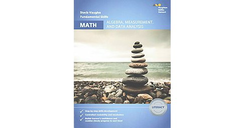 Steck-Vaughn Fundamental Skills for Math : Algebra, Measurement, and Data Analysis Literacy (Workbook) - image 1 of 1