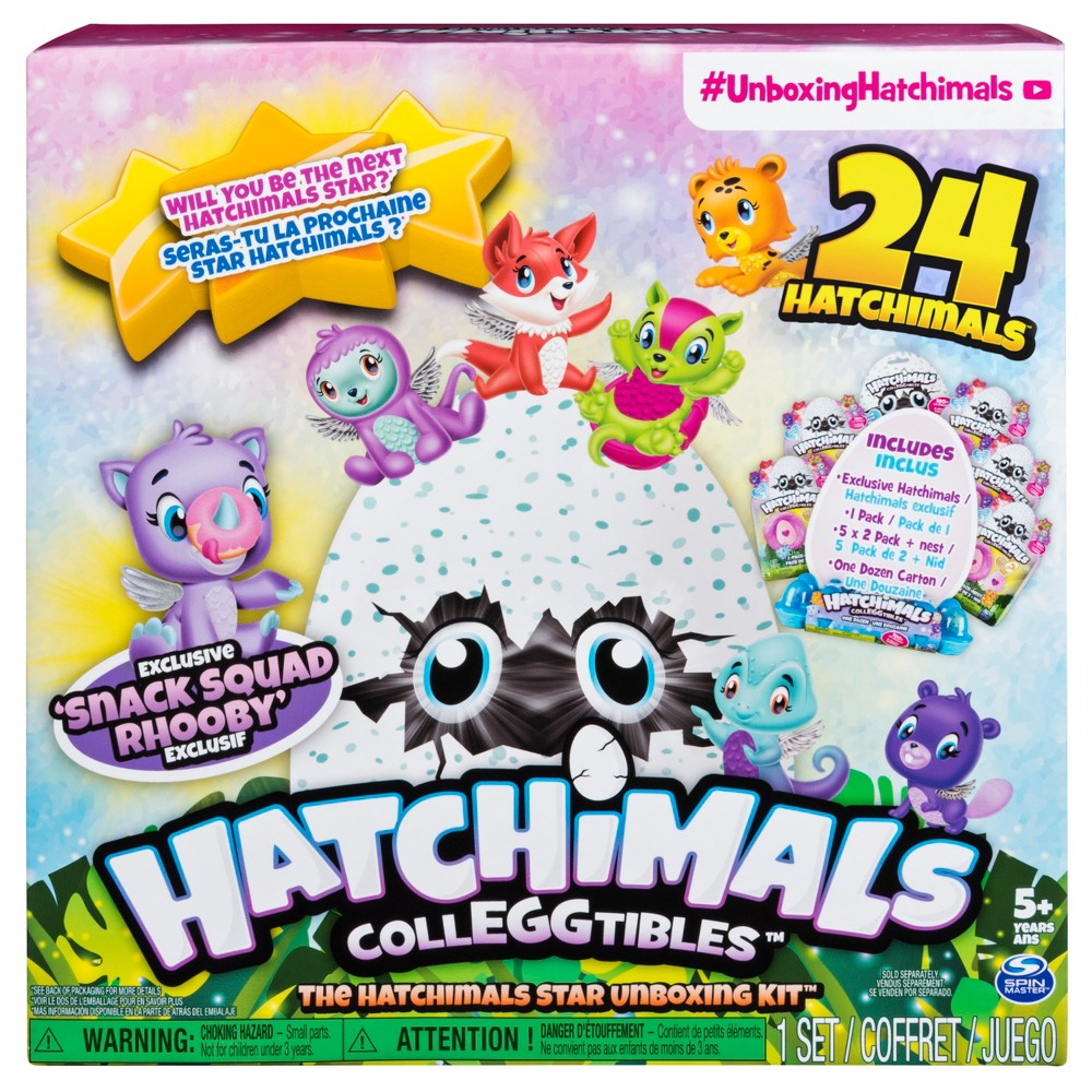 Hatchimals CollEGGtibles - The Hatchimals Star Unboxing Kit with Assorted Hatchimals