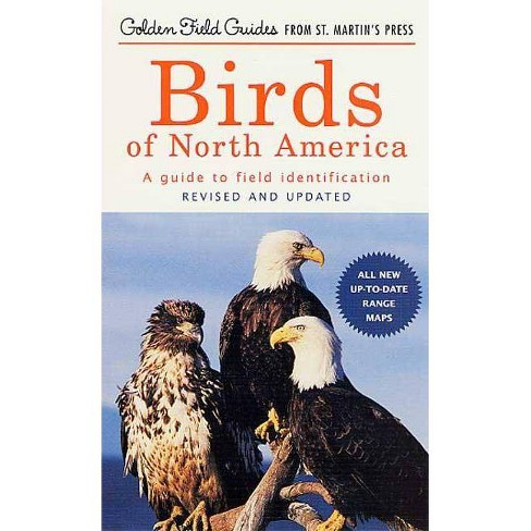 Birds of North America - (Golden Field Guide from St. Martin's Press) (Paperback) - image 1 of 1