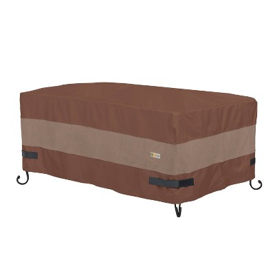 """56"""" Ultimate Rectangular Fire Pit Cover - Duck Covers"""