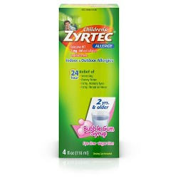 Zyrtec 24 Hour Allergy Relief Tablets - Cetirizine HCl : Target