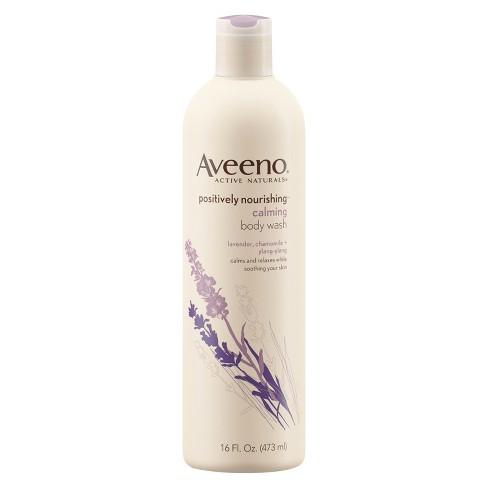 Aveeno Positively Nourishing Calming Lavender Body Wash- 16 fl oz - image 1 of 4